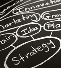 image representing marketing strategy and innovation